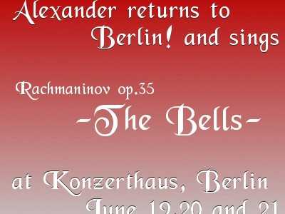 140619-21 The Bell @ Konzerthaus Berlin