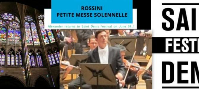 140624 Rossini Petite Messe Solenelle @ Festival de Saint-Denis