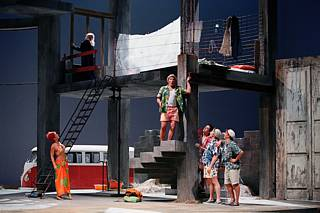 041104 Ariadne auf Naxos (Truffaldin) @ Paris-Opera, Bastille-FRANCE