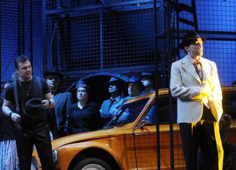 Suren Maksutov as Young Gypsy & Alexander as Aleko