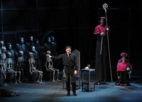 Opera, Pre-generale Francesca Da Rimini Nancy, FRANCE -03/02/2015