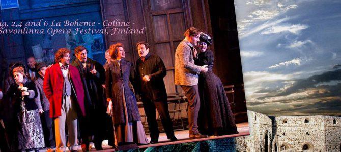 160802-06 La Boheme -Colline- @ Savonlinna Opera Festival