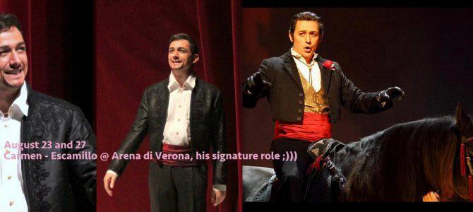 160823-27 Carmen – Escamillo @ Arena di Verona