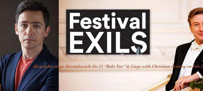 170202 Shostakovich Symphony No.13 -Babi Yar @ Festival EXILS, Liege