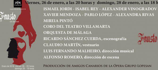 180126-28 Faust – Mephistopheles @  Teatro Villamarta – Jerez