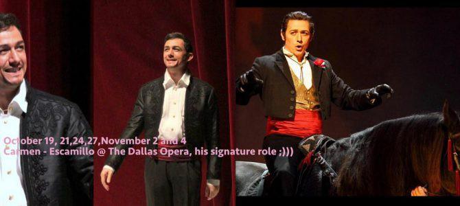 181019-1104 Carmen – Escamillo @ The Dallas Opera