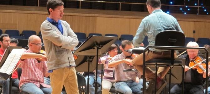 """121025 Concert of Shostakovich """"Song of the Forests"""" @ Orquesta Sinfónica del Principado de Asturias"""